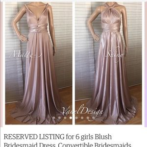 8dad1f8407d Vanel Design from Etsy Dresses - BRAND NEW CONVERTIBLE BRIDESMAID GOWN FROM  ETSY!